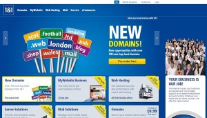 1&1 Domain Name Discount Coupon 1and1 .com Domain Name at £8.39