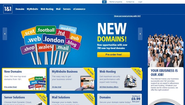 1&1 £0.99 .info Domain Name Discount Coupon August 2014