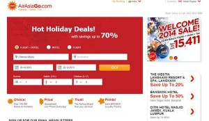 AirAsiaGo 50% Off Flights & Hotel Booking Discount Coupon December 2013