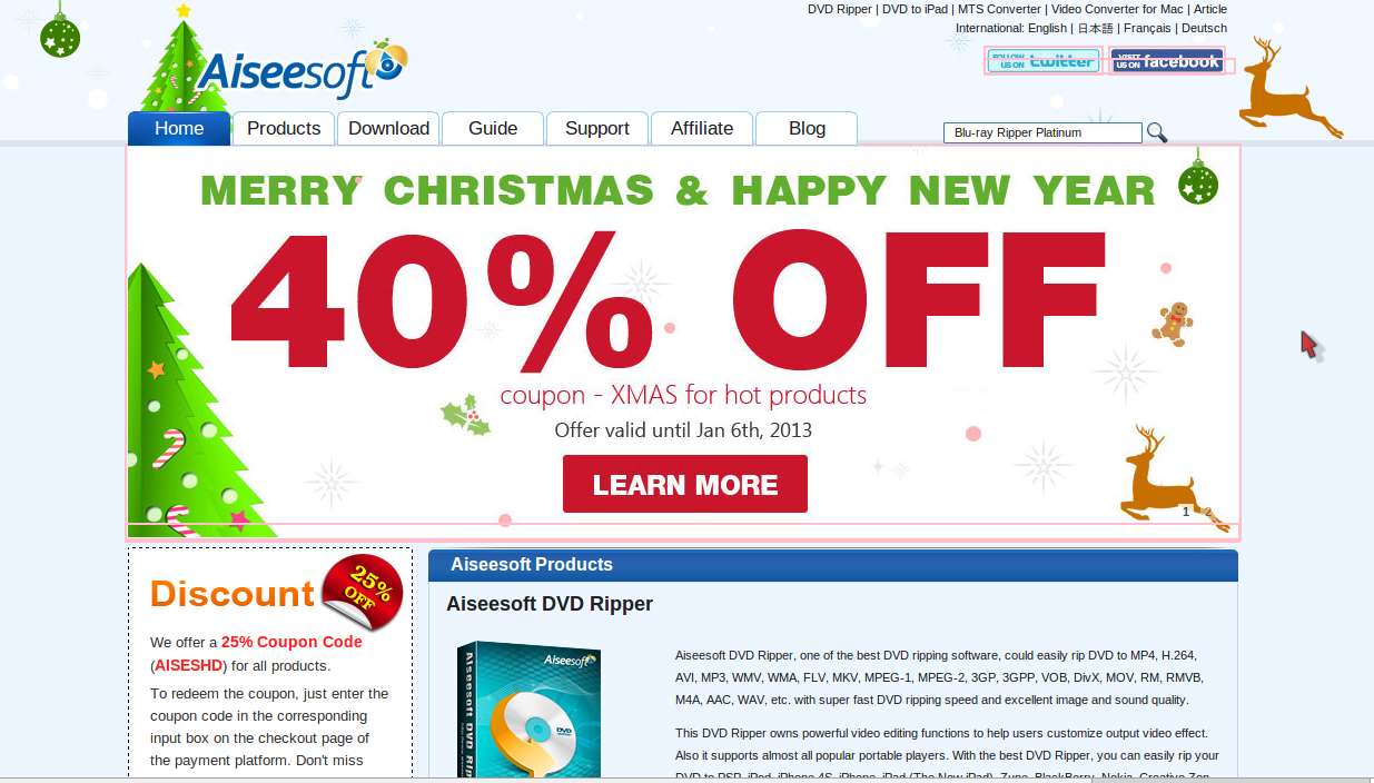 Aiseesoft iPhone/iPad/iPod Data Recovery Software 10% Off Coupon Code