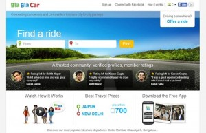 BlaBlaCar Offer Seat to Co-travellers, Car Sharing, Affordable Travel Coupon Code 2015