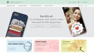 Dailyobjects 25% Off on Mobile & Tablet Designer & Custom Case Coupon Code September 2014