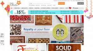 Fab Furnish Rs. 1200 Off Coupon Code April 2015