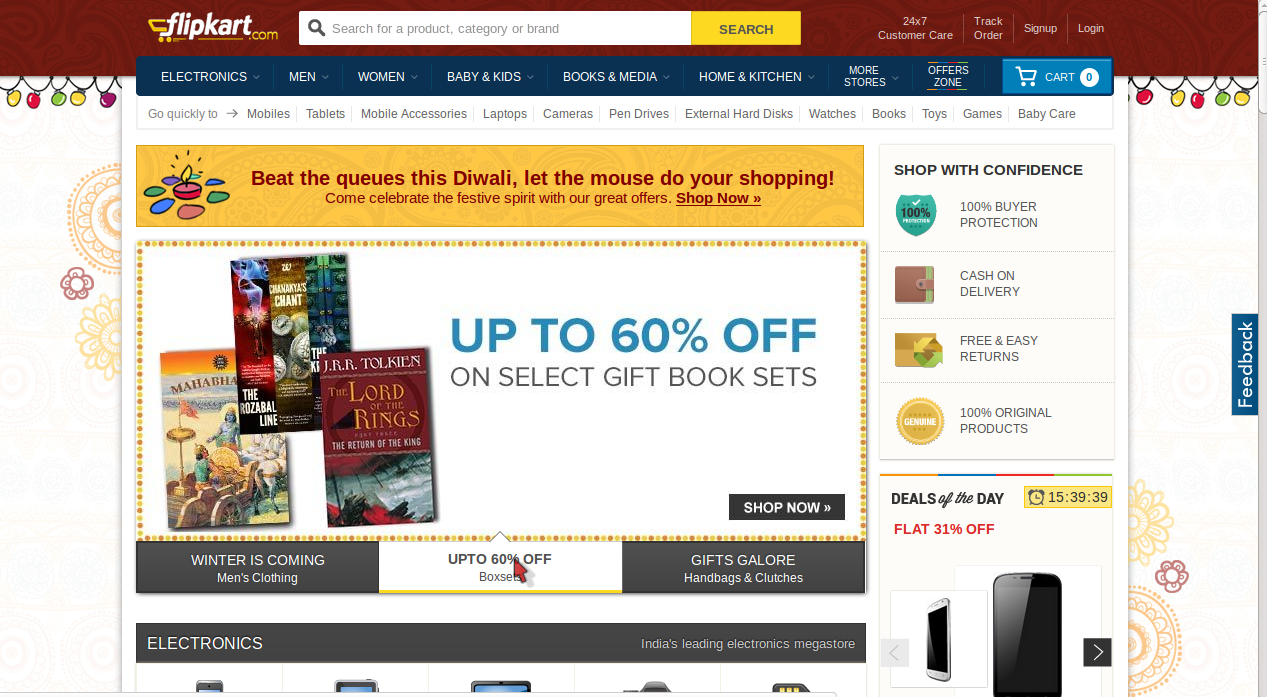 Discount coupons for flipkart electronics