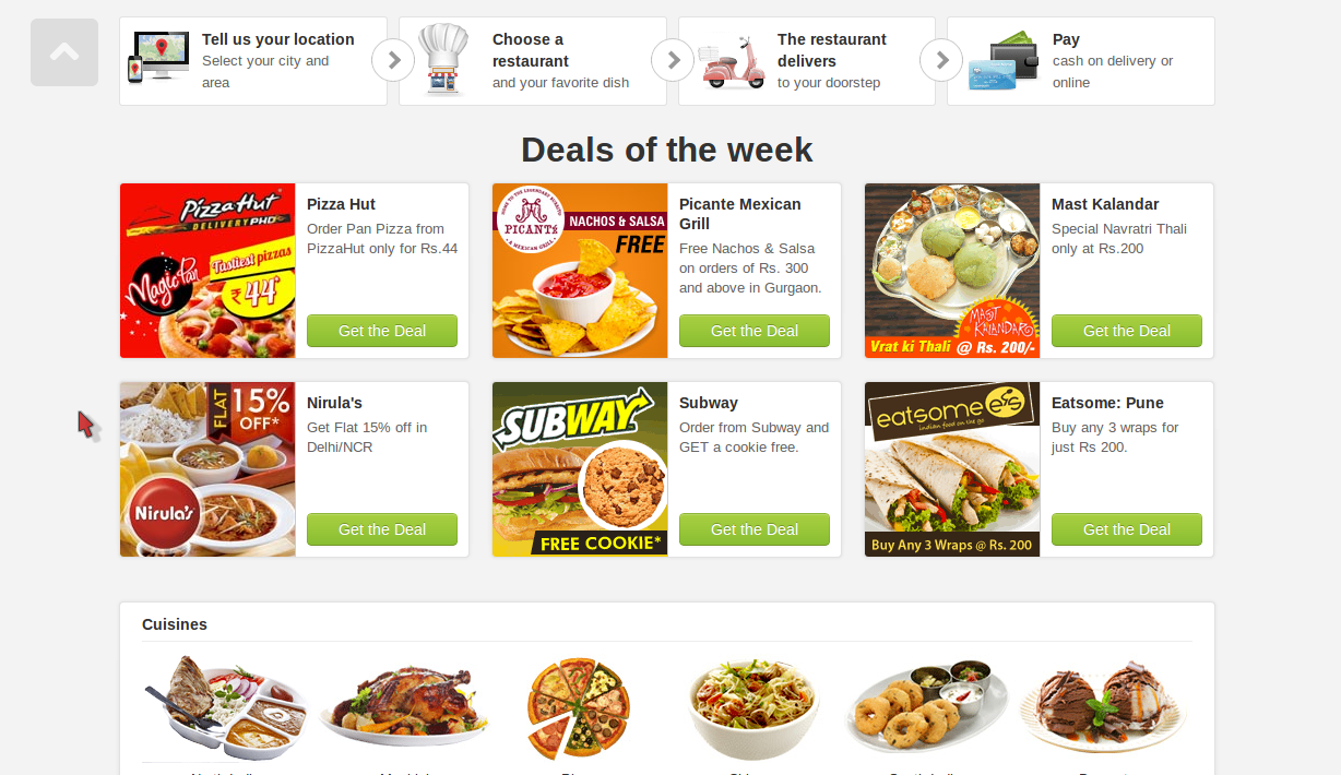 Foodpanda Rs. 150 Off Discount Coupon July 2014
