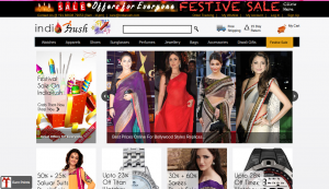 Indiarush Flat 26% off on Ethinic Wear Republic Day Sale Discount Coupon January 2015