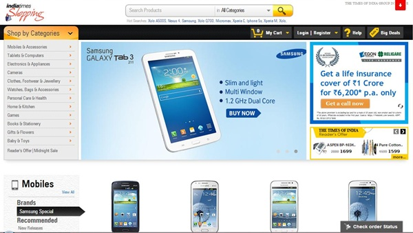 Shopping.indiatimes.com discount coupons