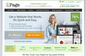 iPage Web Hosting $1.99/Month, Free Domain Name Discount Coupon
