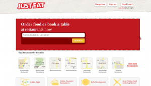 Justeat 50% Off Discount Coupon Dussehra Offer October 2014