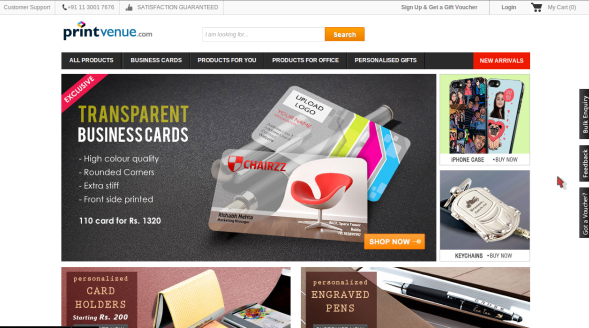 Printvenue 60% Off Clearance Sale Discount Coupon on Various Items April 2015