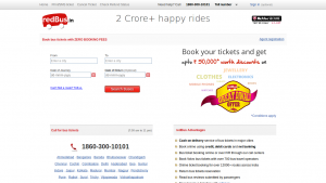 Red Bus Diwali Offer Zero Booking Fee