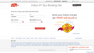 Red Bus Christmas offer Free Gift card from Amazon worth Rs 250 Coupon Code