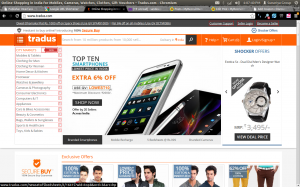 Tradus Rs. 2000 Off Discount Coupon on Mobile Phone December 2013